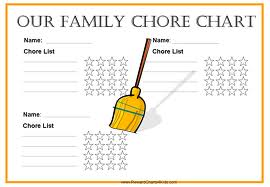 Our Family Chore Chart