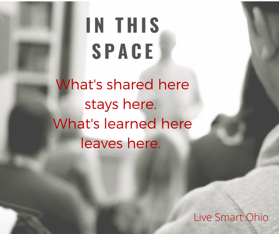 Quote: what's said here, stays here. What's learned here, leaves here.