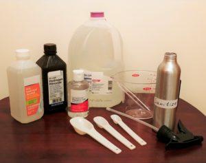 Homemade Hand Sanitizer Ingredients